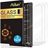 [3 Pack] iPhone 5S Screen Protector,iPhone SE Screen Protector,by Ailun,2.5D Edge Tempered Glass for iPhone 5/5S/5C/SE,Anti-Scratch,Case Friendly-Siania Retail Package