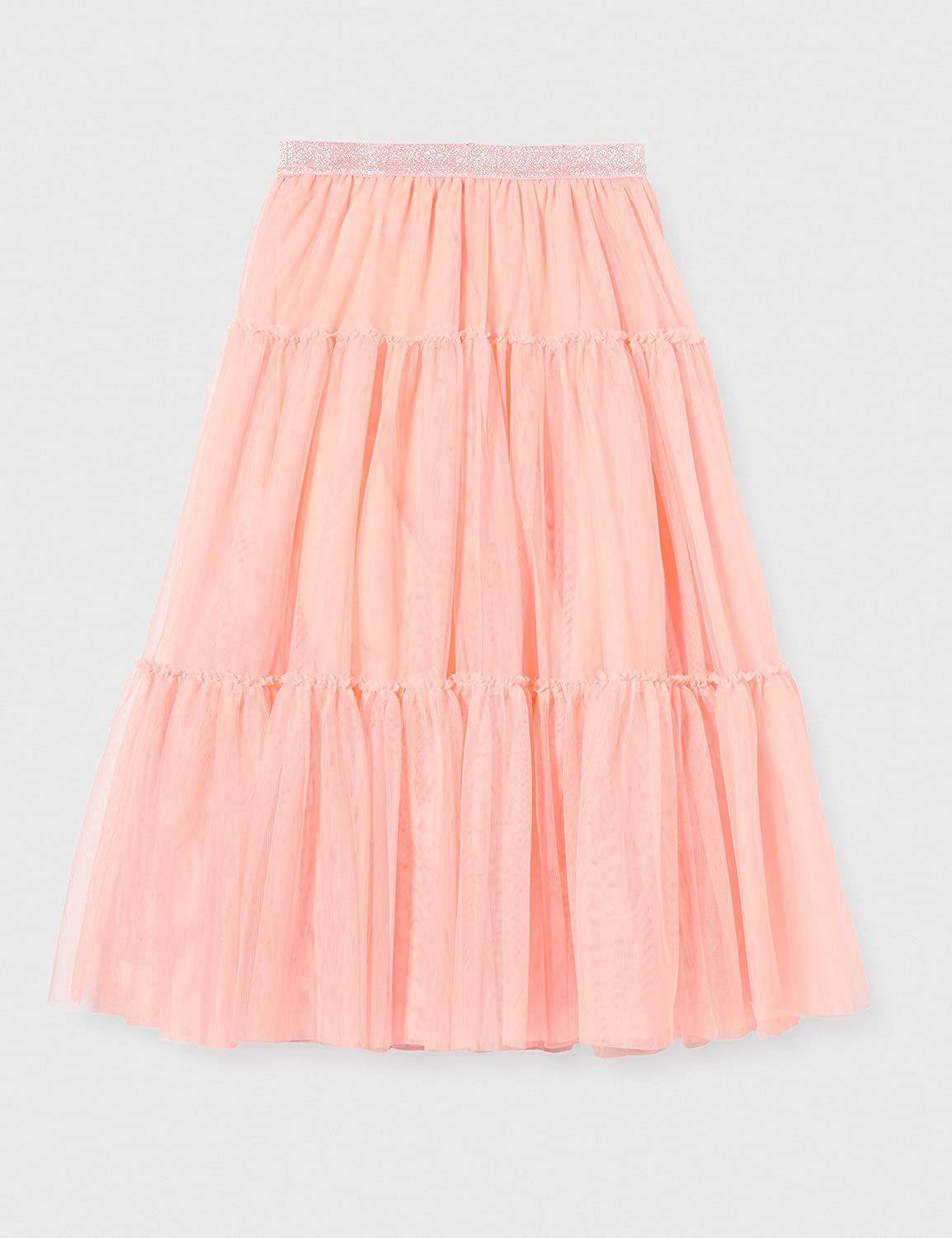 IKKS Junior Boys Jupe Tulle Skirt P/êche 16 Pink 12A