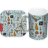 Selina-Jayne Vets Limited Edition Designer Mug and Coaster Gift Set