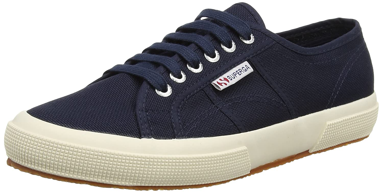 Superga Women's 2750 Cotu Sneaker B005GHQA0G 37.5 M EU / 7 B(M) US|Navy