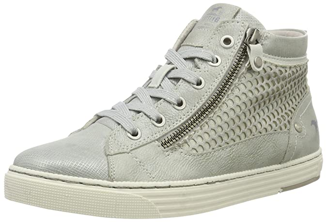 Damen 1146-507 High-Top, Silber (21 Silber), 37 EU Mustang