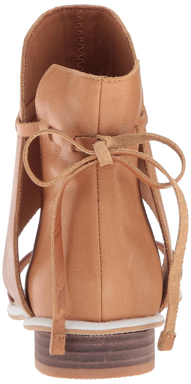 Kelsi Dagger Brooklyn Women's Shae Flat Sandal B077XQ9B1Y 7 B(M) US|Sienna