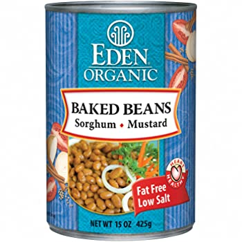 Eden Organic Sorghum Navy Canned Baked Beans