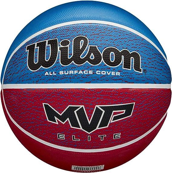 Wilson Balón de Baloncesto, Mvp Elite, Cubierta de Goma, Todas las ...