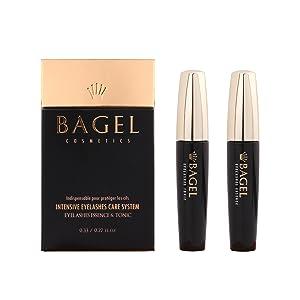 BAGEL Korean Premium Eyelash Growth Serum Tonic 8ml + Essence 10ml Set