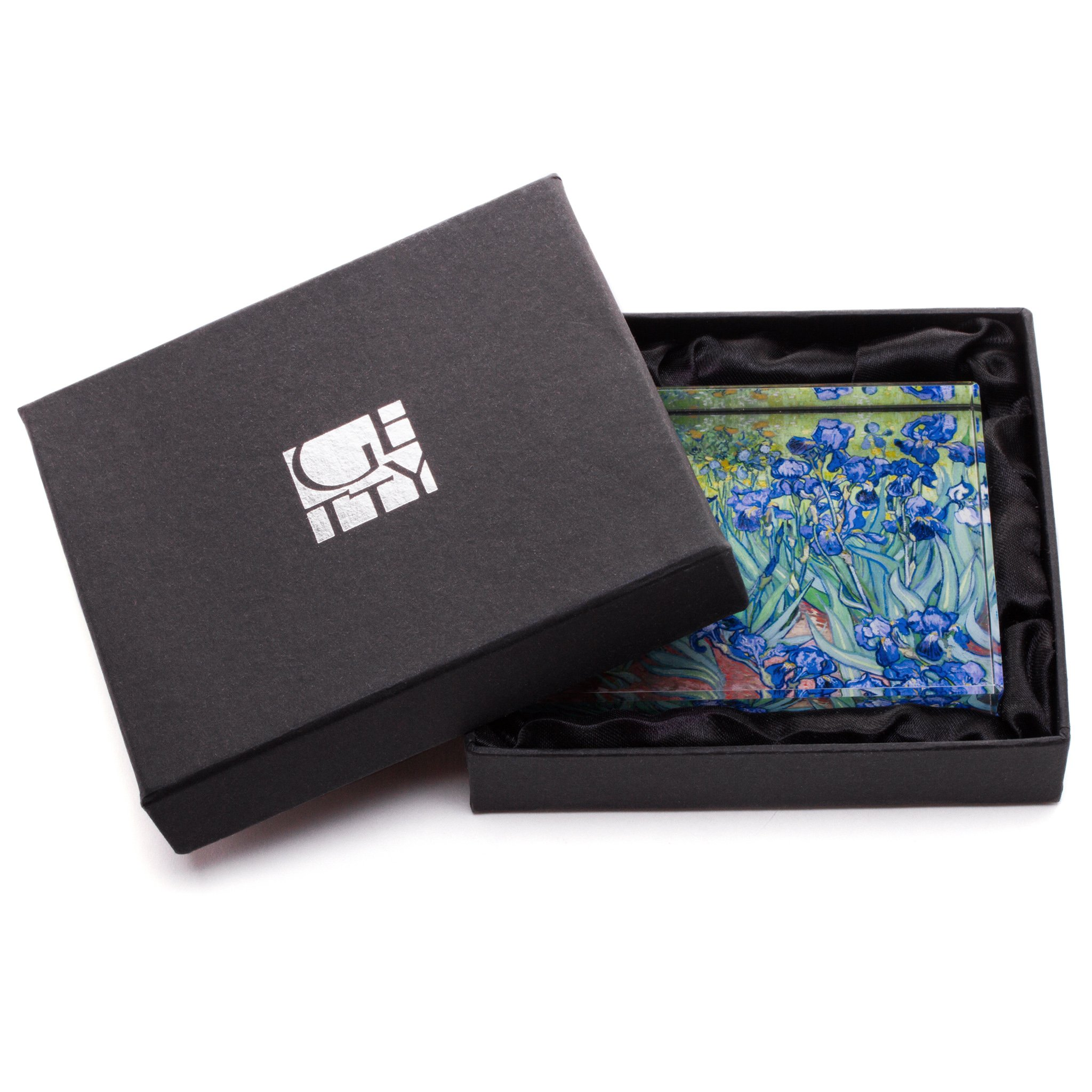 Van Gogh's Irises - Paperweight by Getty Museum Store by Getty