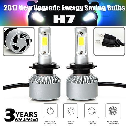 120 W 12000LM H7 LED DRL Faro Bombillas Coche Hi o luz de ...