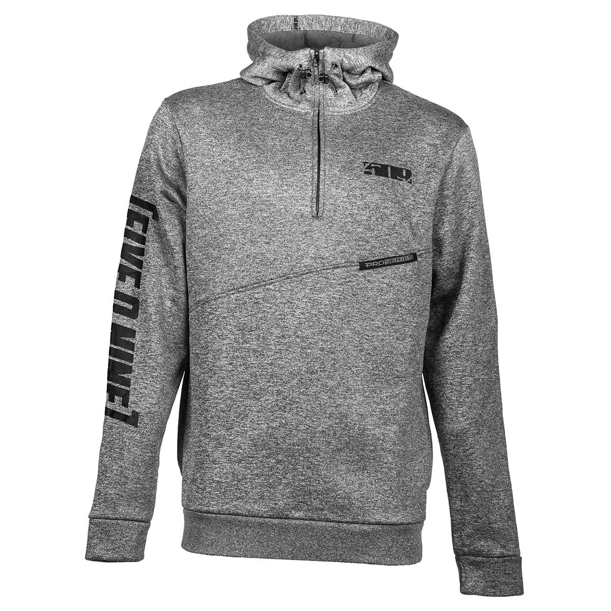 509 Sector Quarter-Zip Hoody (Gray - Small) F09000800-120-601