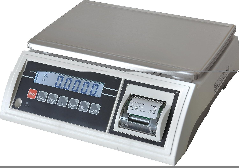 BALANZA IMPRESORA INCORPORADA JWP-6K-IMP,Capacidad 6kg Precision 2g: Amazon.es: Industria, empresas y ciencia