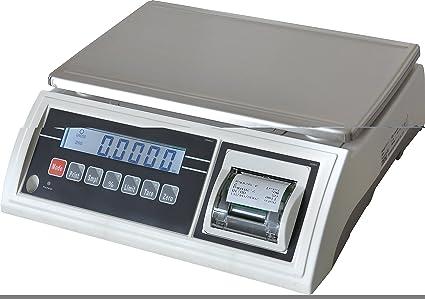 BALANZA IMPRESORA INCORPORADA JWP-30K-IMP Capacidad 30kg Precision 1g