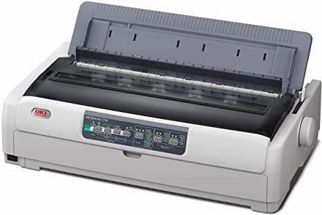 Oki Ml5791Eco - Impresora matricial Negro (136 columnas, 24 ...