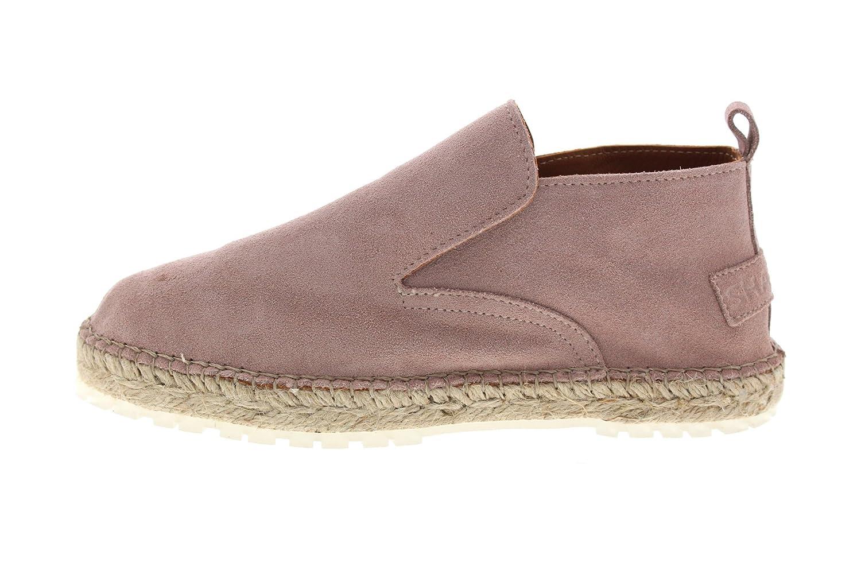 Shabbies Espadrille Loafer Suede Suede Loafer Soft Rose Pink 314b61