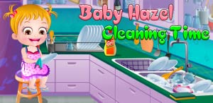 Baby Hazel Cleaning Time by Axis entertainment limited