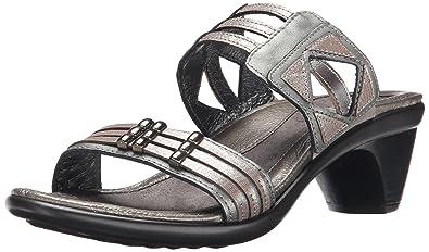 cf004a4ad3 Naot Women's Afrodita Dress Sandal, Sterling/Silver Threads/Mirror, 35 EU/