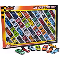 36 PC DIE CAST CAR MODEL SET F1