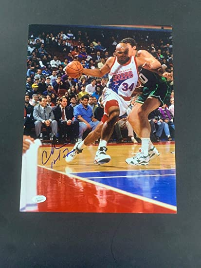 Charles Barkley Signed Photo 11x14 Autograph 76ers