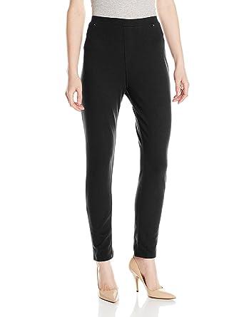 c1c5ca68840 Caribbean Joe Women s Pull-On Ankle Pant at Amazon Women s Clothing ...