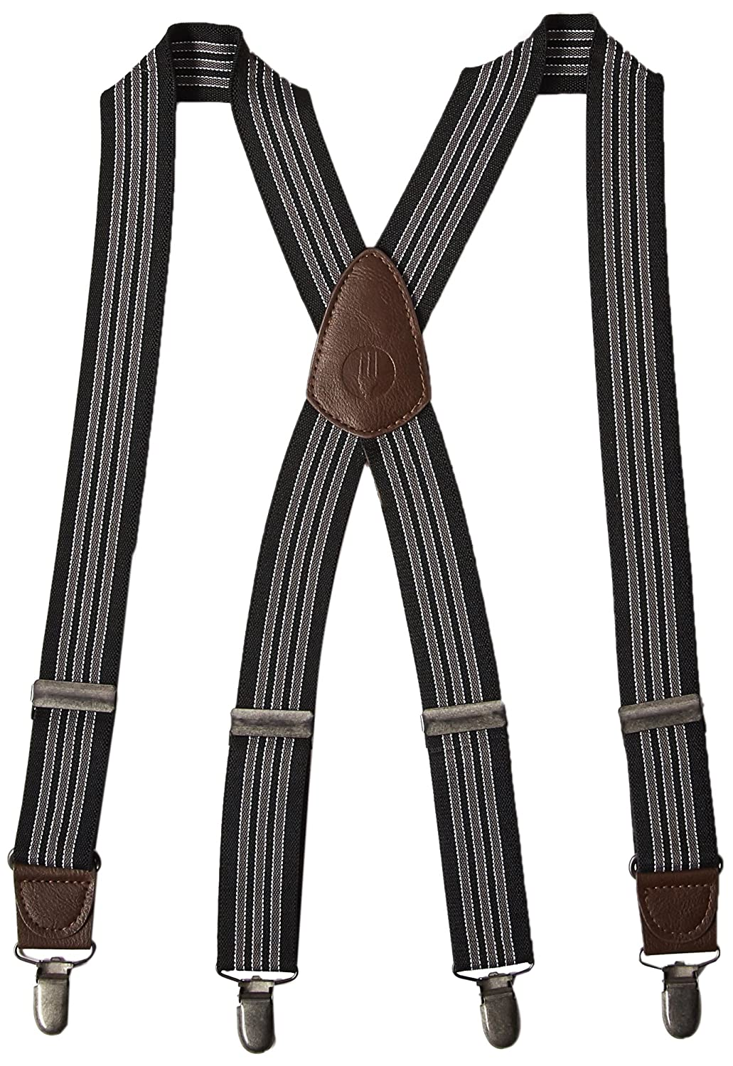 Chef Works Men's Berkeley Bib Apron Suspenders Black OS XNS03-BLK-0
