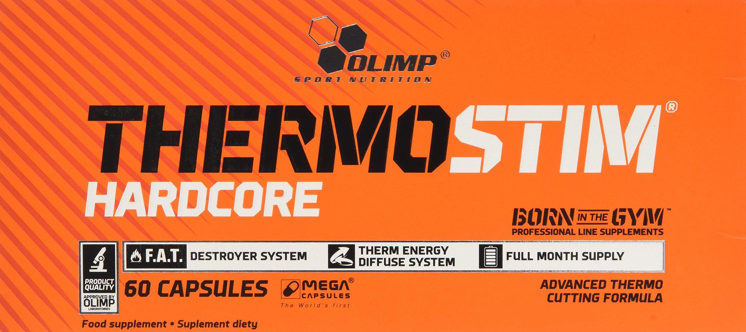 Olimp Labs Thermo Stim Hardcore Capsules, 60 Capsules