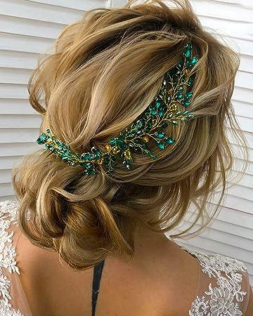 Party Hair Vine Headband Hair Accessory Black /& Gold