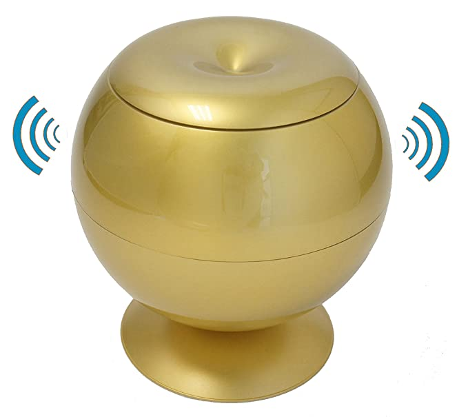 Amazon.com: Sensor Apple Servilleta / dispensador de tejidos, Oro Brillante: Home Improvement