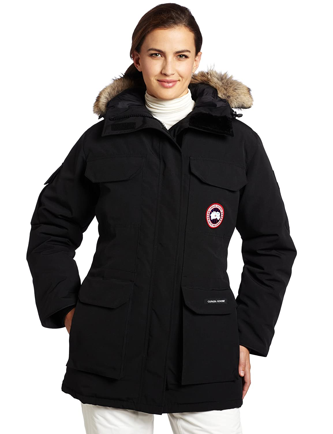 7ab6cfffb876 Amazon.com  Canada Goose Women s Expedition Parka  Clothing