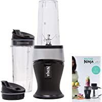 Ninja Personal Blender for Shakes, Smoothies, Food Prep, and Frozen Blending with 700-Watt Base and (2) 16-Ounce Cups…