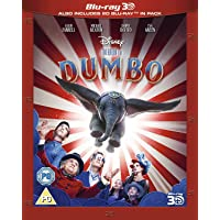 Disney's Dumbo 3D Bl-ray DVD