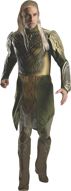 Desolation of Smaug Hobbit Deluxe Legolas Adult Costume X-Large ...