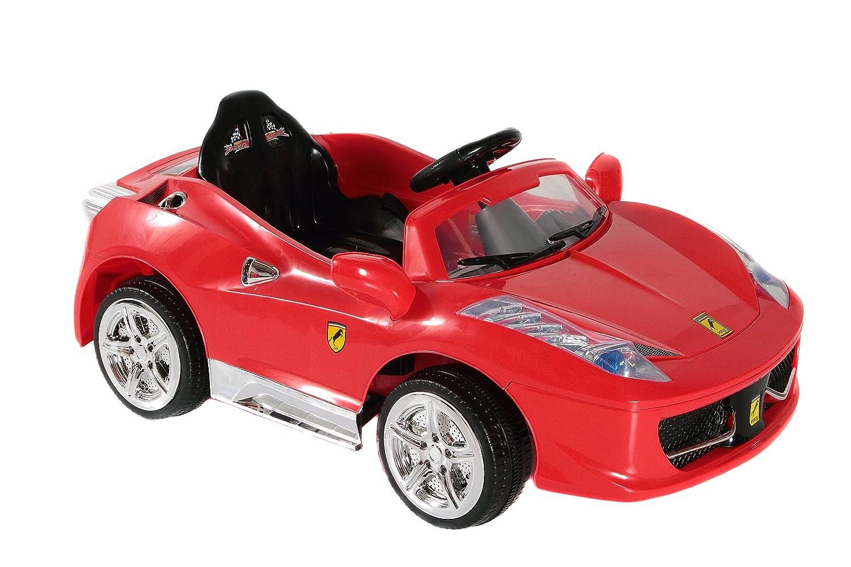 Amazon.com: Mejores Ride On coches italia 458 12 V Italiano ...