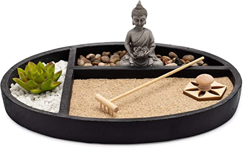 AsanaLiving Desktop Zen Sand Garden