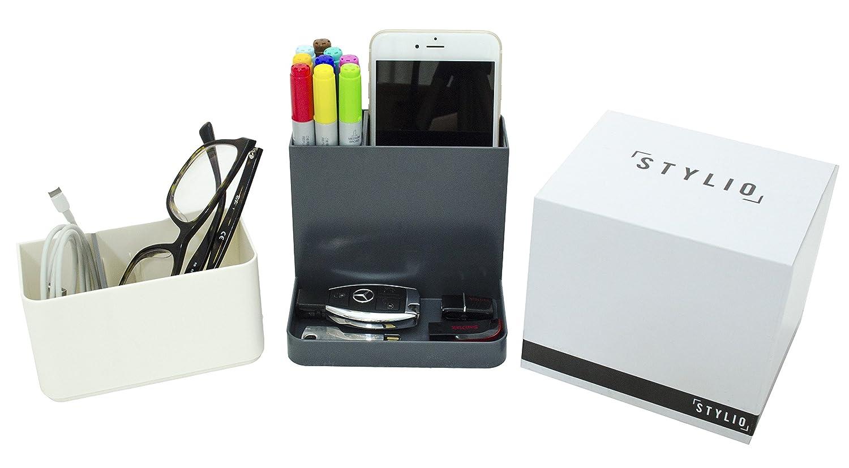 Amazon.com : STYLIO Desk Organizer   Desktop Caddy, Pencil Holder For Office/  Home/ Teaching/ School Supplies   Storage For Cubicle Accessories, Pen, ...
