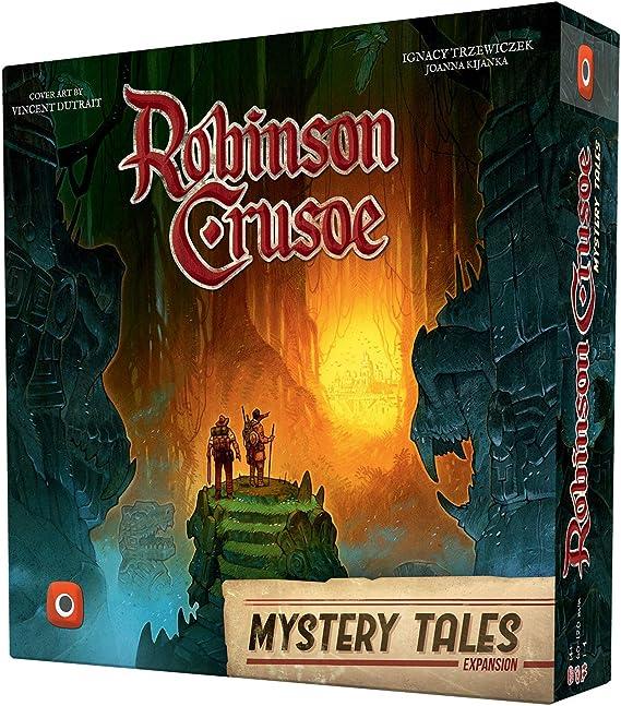 Wydawnictwo Portal POP00379 Robinson Crusoe Mystery Tales Expansion - Juego de Mesa (Contenido en alemán): Amazon.es: Juguetes y juegos