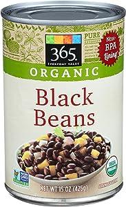 365 Everyday Value, Organic Black Beans, 15 oz