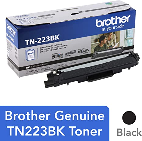 Amazon.com: Brother TN223BK - Cartucho de tóner negro de ...