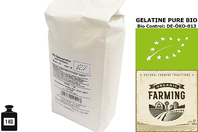 Polvo de Gelatina Orgánica Pura 1 kg SOBO | La Primera Gelatina en Polvo del Mundo