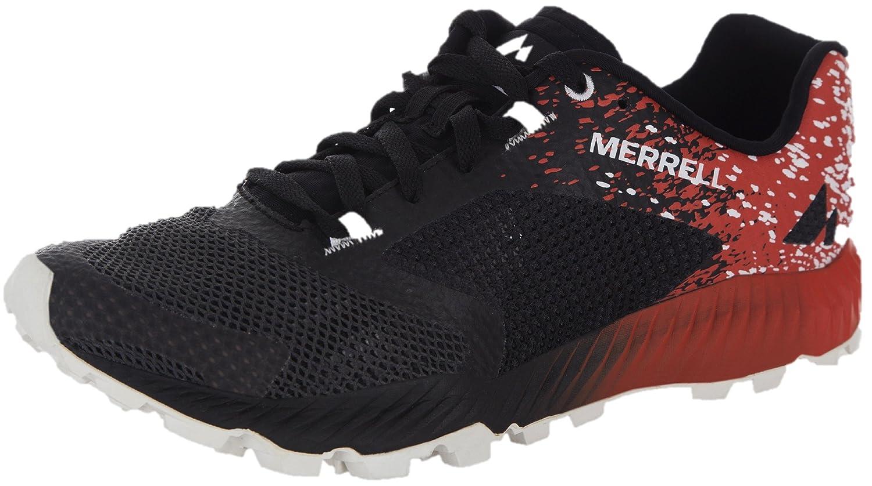 Merrell Zapatillas Para Correr EN Montaña de Material Sintético Para Hombre Multicolor Black/Spicy Orange 44.5 EU 10.5 US 10 UK