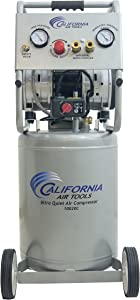 California Air Tools 10020CAD-22060 Ultra Quiet, Oil-Free andPowerful 2 Hp Air Compressor with Auto Drain Valve