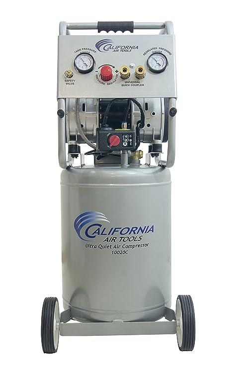 California Air Tools 10020C Ultra silencioso libre de aceite y potente compresor de aire, 2 hp: Amazon.es: Bricolaje y herramientas