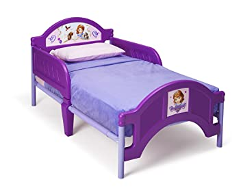 Delta Children Plastic Toddler Bed Disney Junior Sofia The First