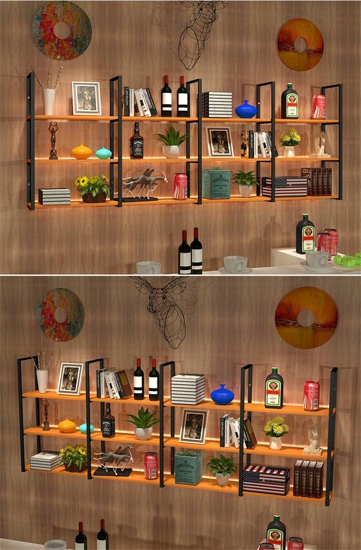 Mensole Sospese Per Bar.Hshelf Mobilia Mensole Multifunzionali 2 Tiers Bar Mensola A