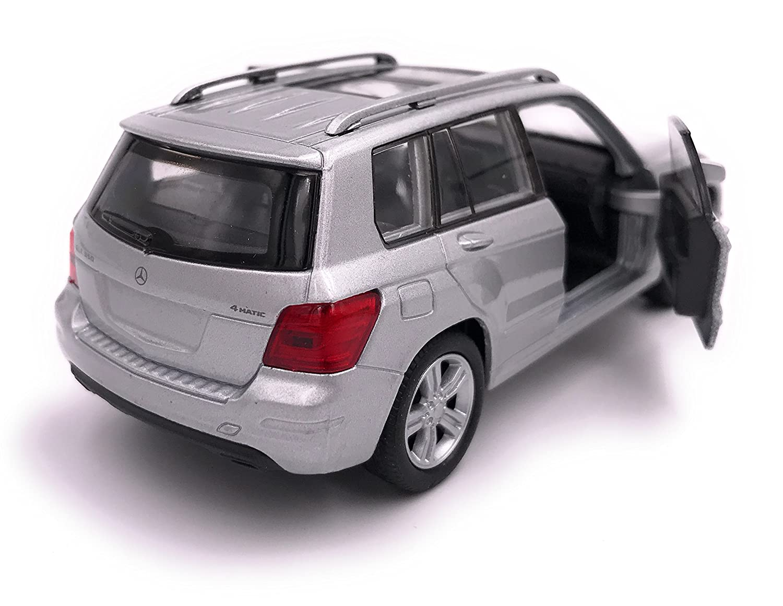 39 Plateado 34-1 Welly Producto de Licencia de autom/óvil Modelo Mercedes Benz GLK 1