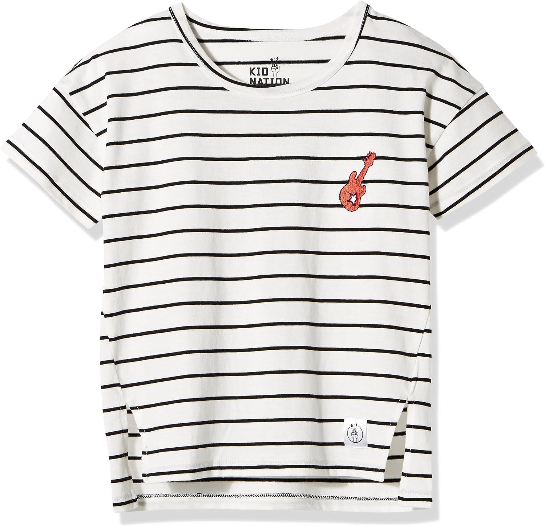 Kid Nation Kids Unisex 2 Packs 100/% Cotton Tank Tops Sleeveless Crew Neck Shirts for Boys or Girls 4-12 Years