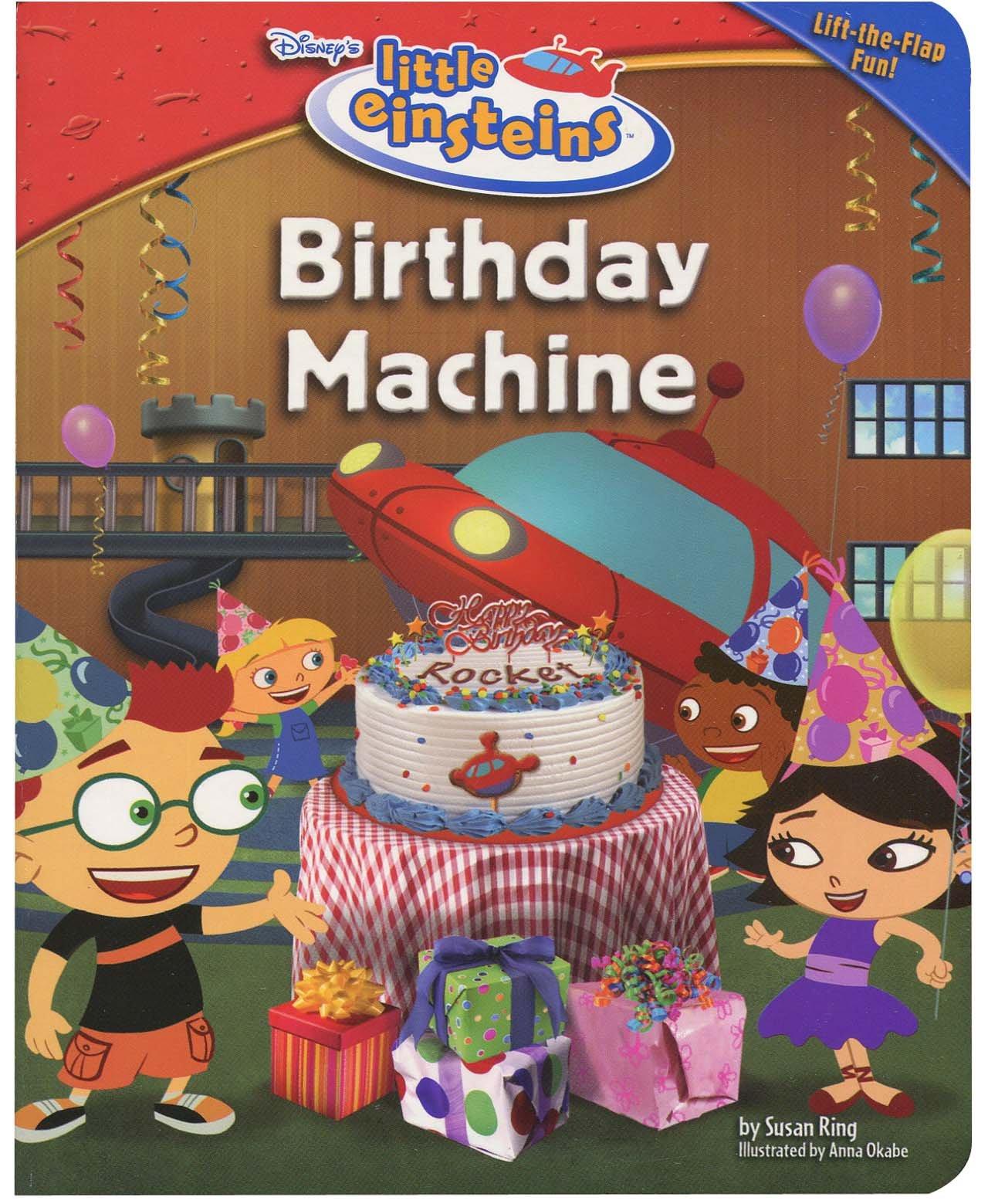 Fantastic Birthday Machine Little Einsteins Early Reader Hardback Amazon Co Funny Birthday Cards Online Alyptdamsfinfo