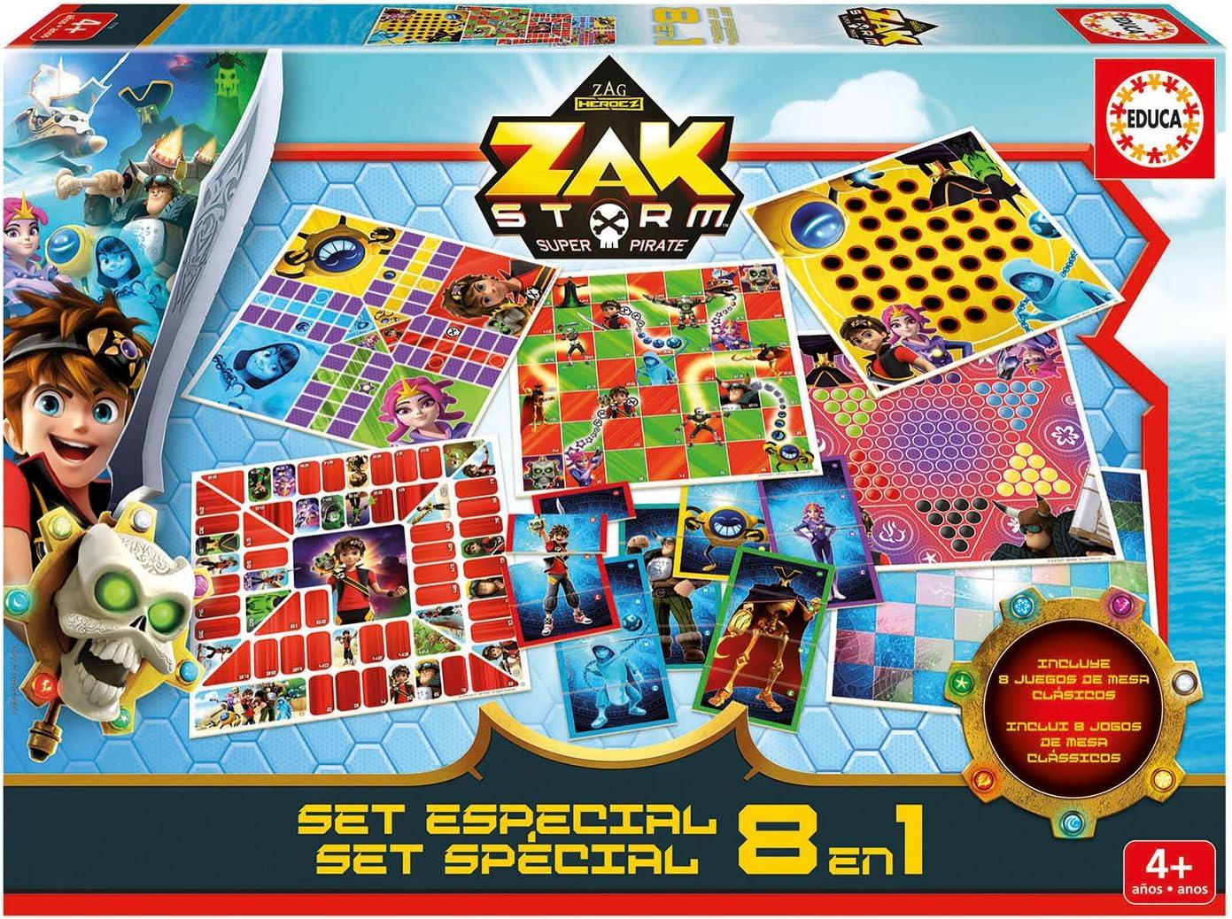 Educa Borrás- Zak Storm Set Especial, Multicolor (17719): Amazon.es: Juguetes y juegos