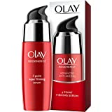 Olay Regenerist 3 Point Firming Anti-Ageing Ultra-Lightweight Serum for Firm Skin and Reduces the Look of Wrinkles, 50 ml