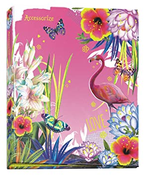 Accessorize carpeta con Flamingo - Din A4: Amazon.es: Oficina y papelería