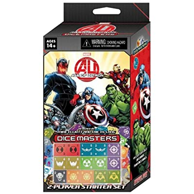 WizKids Marvel Dice Masters: Age of Ultron Dice Building Game: Toys & Games