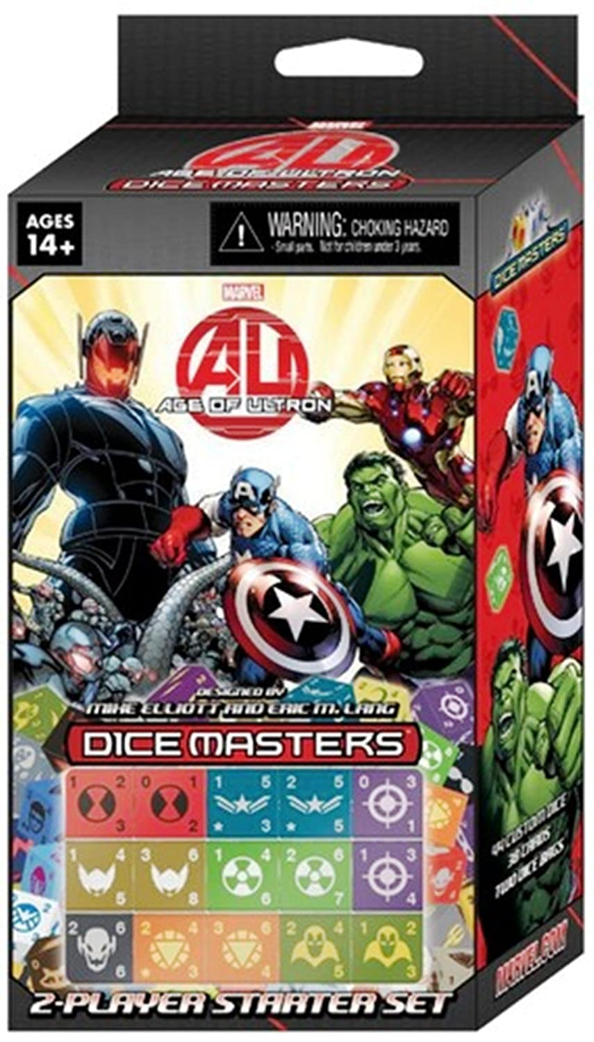 WizKids Marvel Dice Masters: Age of Ultron Dice Building Game