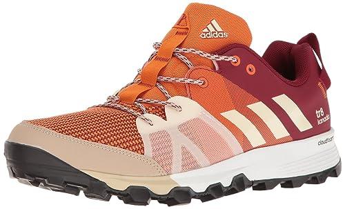 1565cdeafce85 Adidas Kanadia 8 TR Trail - Zapatillas de Running para Hombre, Tactile  Orange/Chalk